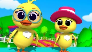 Luke & Lily - Two Little Dicky Birds   Nursery Rhymes   Kids Songs   Children's Rhymes