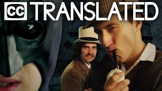 [TRANSLATED] Batman vs Sherlock Holmes. Epic Rap Battles of History. [CC]