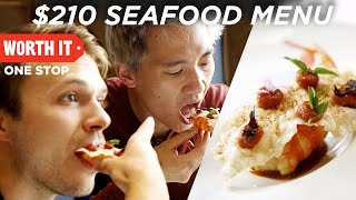 $210 7-Course Seafood Dinner