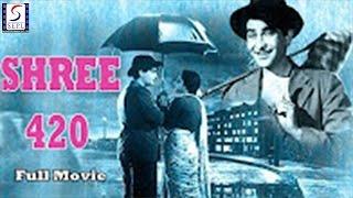 Shree 420 l Hindi Full Classic Movie HD l Raj Kapoor, Nargis l 1955