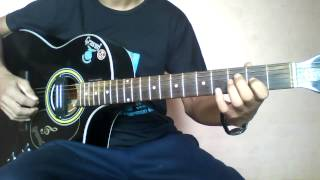 Resham Firiri - Guitar Lead part By Sanjip Rana
