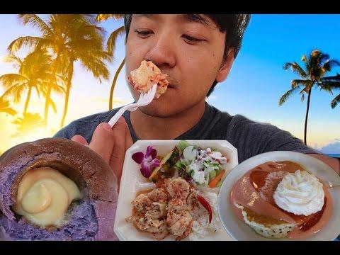 OMG The SPICY Shrimp Oahu Hawaii Food Tour