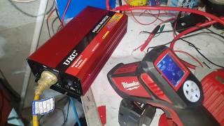 Load Vs temperature 4000 watt Ukc 12v power inverter