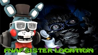 INSANE BALLORA JUMPSCARE!!! || FNAF Sister Location OFFICIAL GAMEPLAY!