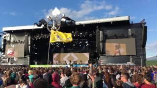 Glastonbury 2016 - Bring Me The Horizon, Happy Song