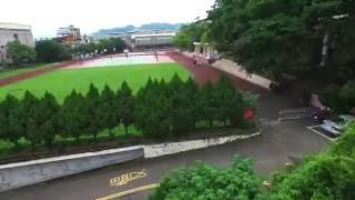 【飛越東中】 竹東高中 校園空拍 藍色蝴蝶