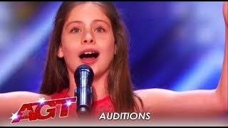 Emanne Beasha: You Won't BELIEVE The Voice That Comes From Her Tiny Body | America's Got Talent 2019