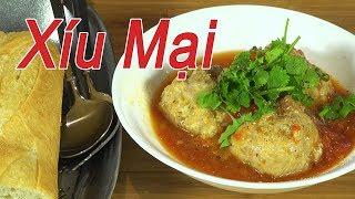 Xíu mại - Cách làm xíu mại  sốt cà chua - món diểm tâm ngon cho cả nhà - By Nguyễn Hải