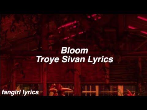 Bloom || Troye Sivan Lyrics