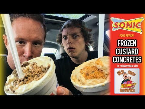 Xxx Mp4 Sonic Drive In S Custard Concretes Food Review Collab Video With Old Nerd Reviews 3gp Sex