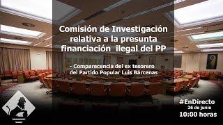 Comisión de Investigación relativa a la Presunta Financiación Ilegal del PP