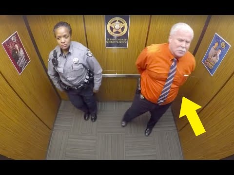 Xxx Mp4 This Cop Thought They Were Alone In Elevator Doesnt Know Hidden Camera Is Recording His Every Move 3gp Sex