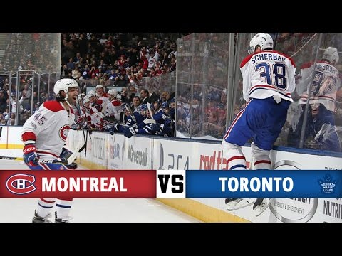 Montreal Canadiens vs Toronto Maple Leafs Season Game 40 Highlights 7 1 17