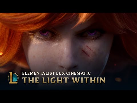 The Light Within Elementalist Lux League of Legends