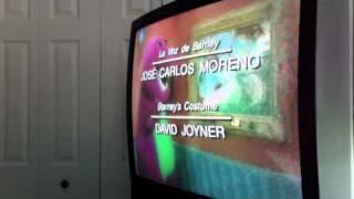 Closing to La Casa De Barney 2000 VHS