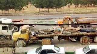 Iran - le 23 mai, La grève des camionneurs de Tabriz à Téhéran