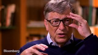 Bill Gates Full Interview - The David Rubenstein Show - 17 Oct 16  | Gazunda