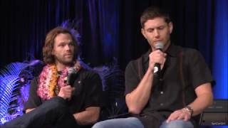 HonCon Jared Padalecki and Jensen Ackles FULL Main Panel 2017 Supernatural
