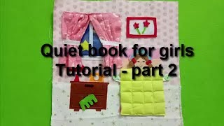 How to make quiet book for girls 02/tutorial video/quiet book for kids