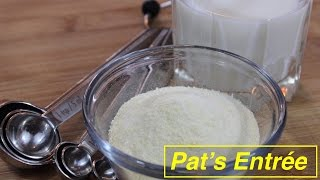 Homemade Whey Protein Powder