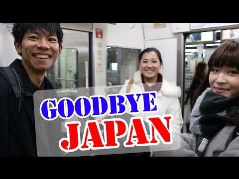 [CC ENG] Goodbye Japan!! - Airport Troubles