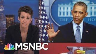 President Barack Obama Exits With Long List Of Accomplishments | Rachel Maddow | MSNBC