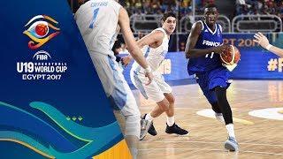 Argentina v France - Live - FIBA U19 Basketball World Cup 2017