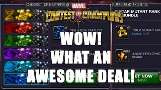 WOW! WHAT AN AWESOME DEAL! | Marvel Contest of Champions