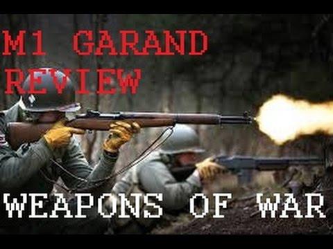 REVIW: WWII M1 GARAND service rifle PART #1