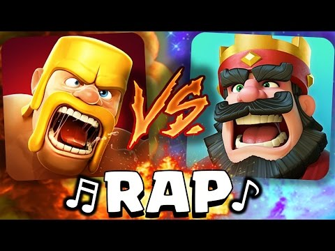 ¡Clash of Clans VS Clash Royale! RAP - [AdryBrix-Antrax] ☣