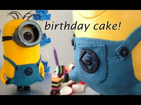 MINION CAKE, 3D cake by How To Cook That Ann Reardon - YTPak.com