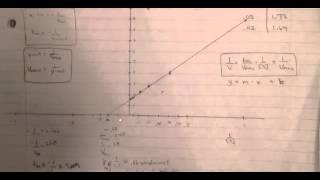 Enzymes (Part 5 of 5) - Lineweaver Burk Plot Example