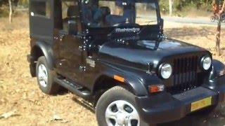 Mahindra Thar CRDe 4X4 Facelift Walkaround.