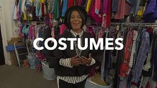 Touring the Stuck in the Middle Costume Department