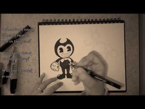 How to draw Bendy and Boris