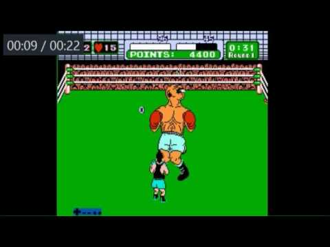 Mike Tyson's Punch-Out!! Tutorial for Speedrunning - Bald Bull 1