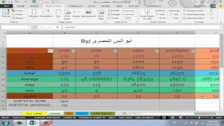 Fourth lesson (part 2) in Excel 2013