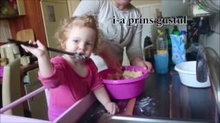 Prajitura de Post cu Mere Rapida - Issabella in Bucatarie//Apple cake - Isabella in Kitchen  - Ep 1