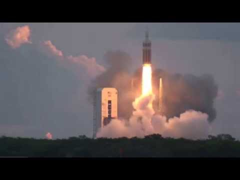 INTENSE Sound of Orion EFT 1 Launch on Delta IV Heavy Rocket