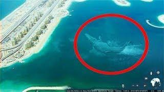 7 مخلوقات بحرية غريبة إلتقطتها كاميرات جوجل إيرث. لن تصدقوا شكلها !!