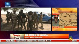 Army Says Sambisa Forest Is Under Its Control Pt. 2