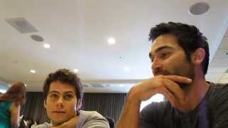 Teen Wolf Interview: Dylan O'Brien and Tyler Hoechlin Talk Season 3 At San Diego Comic Con 2013