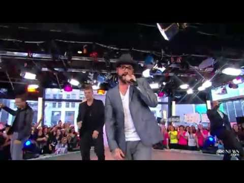 2013 05 15 Backstreet Boys on GMA Everybody Backstreet s Back