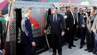 المغرب يدشن أول قطار فائق السرعة في أفريقيا يربط بين طنجة والدار البيضاء…