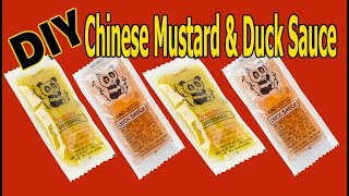 Chinese Hot Mustard & Duck Sauce | Make Your Own At Home with TWO Ingredients! -