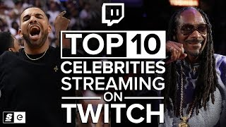 The Top 10 Celebrities Streaming on Twitch