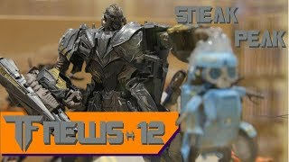 TF News 12: Leader Class TLK Megatron - Robot Mode (Sneak Peak)