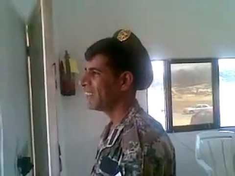 جندي اردني يغني بصوت راائع جدا