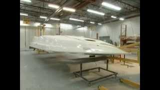 صناعة قوارب الفيبر جلاس   Fiberglass Boat Made