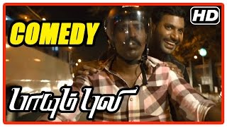 Paayum Puli Tamil Movie | Comedy Scenes | Vishal | Soori | Kajal Aggarwal
